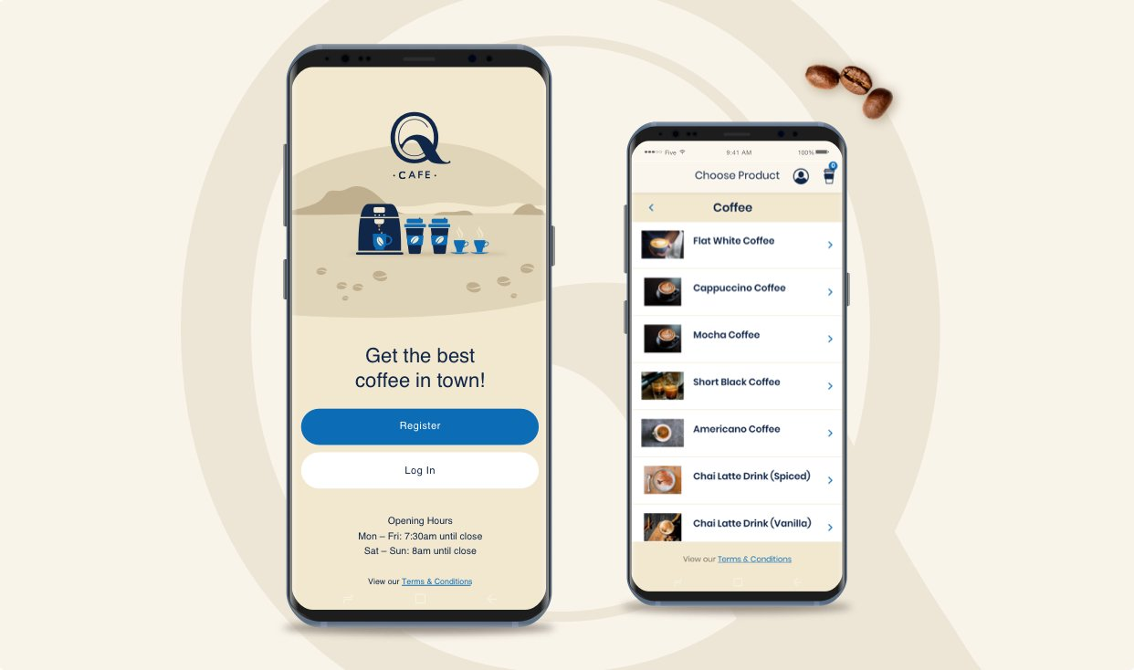 QCafe App Featured Image