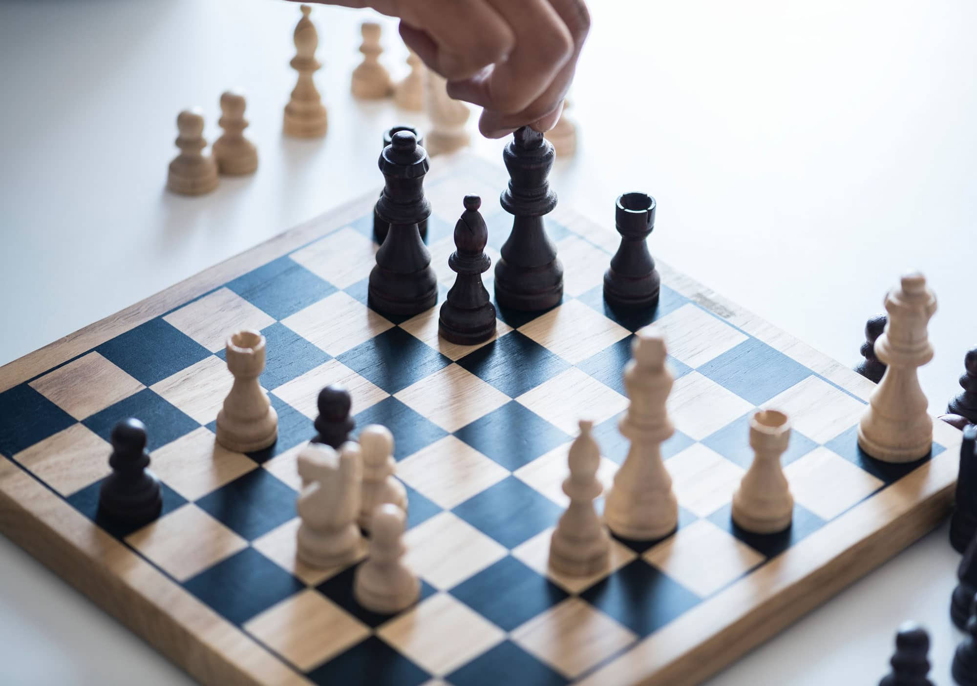 Business Strategies Chess Photo