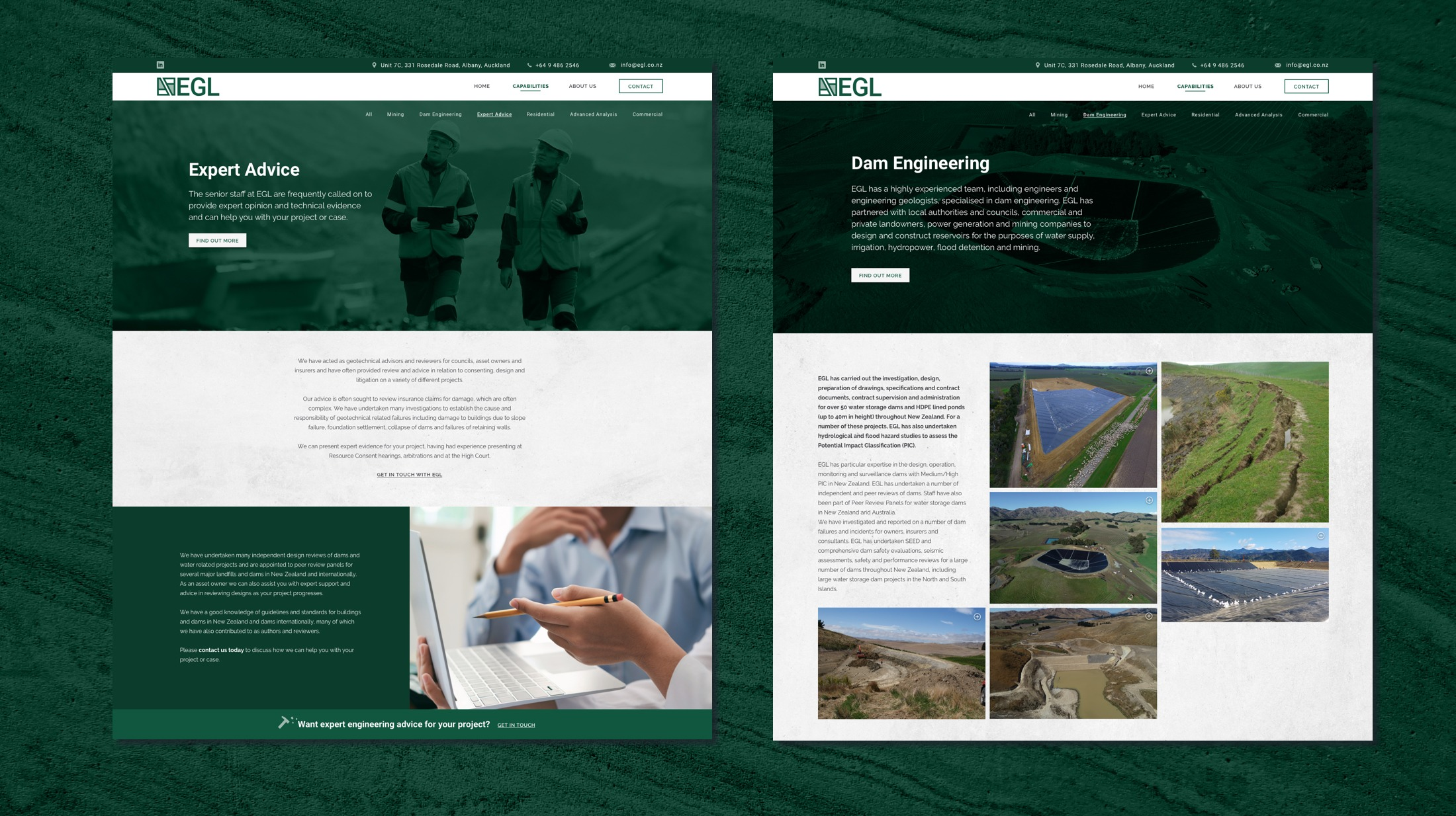 Website Development - EGL