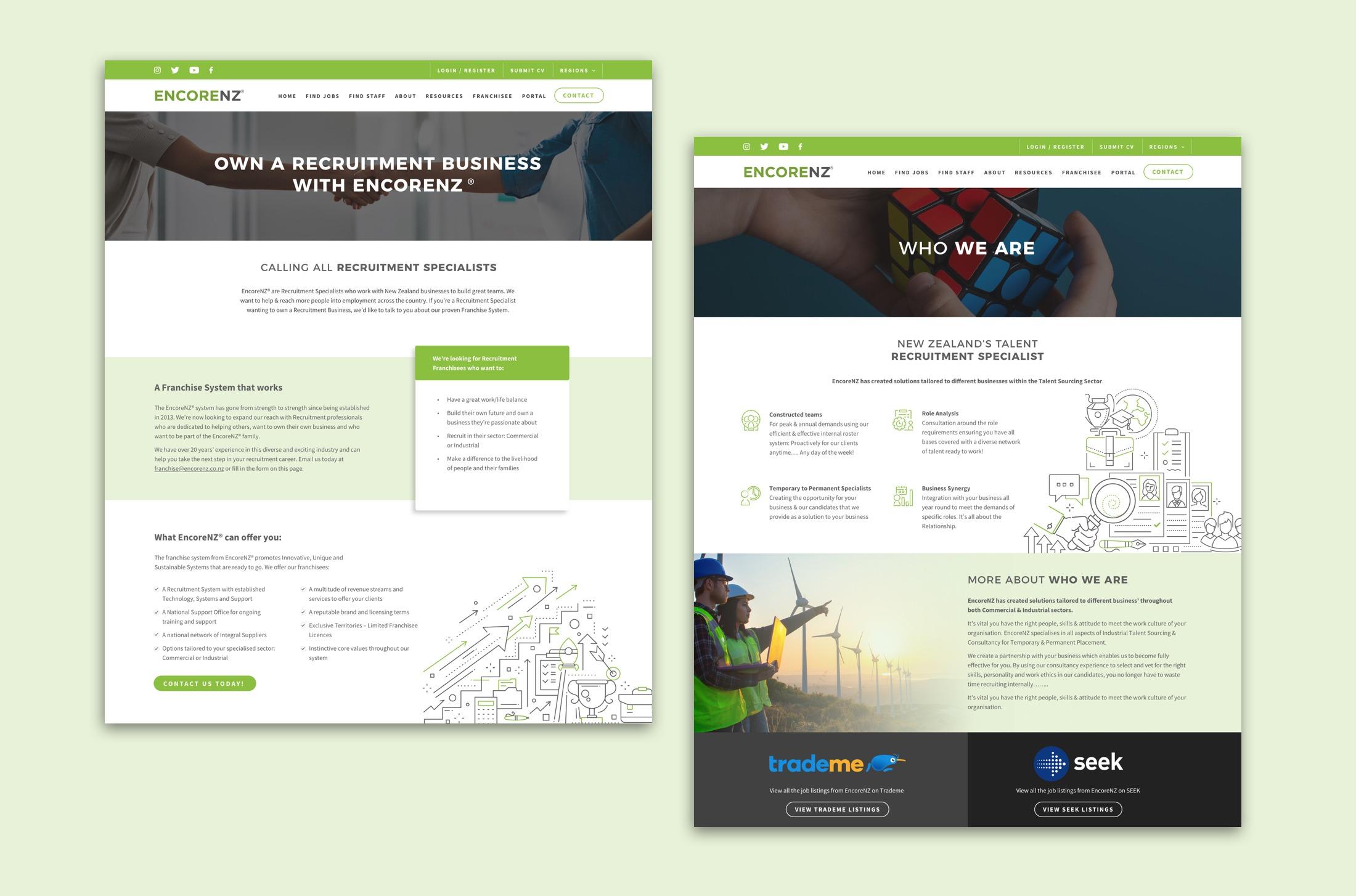 Website Design - EncoreNZ