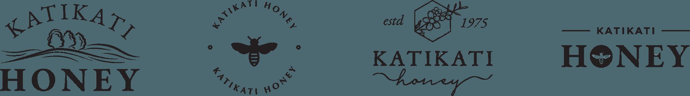 Initial Logo Concepts - Katikati Honey