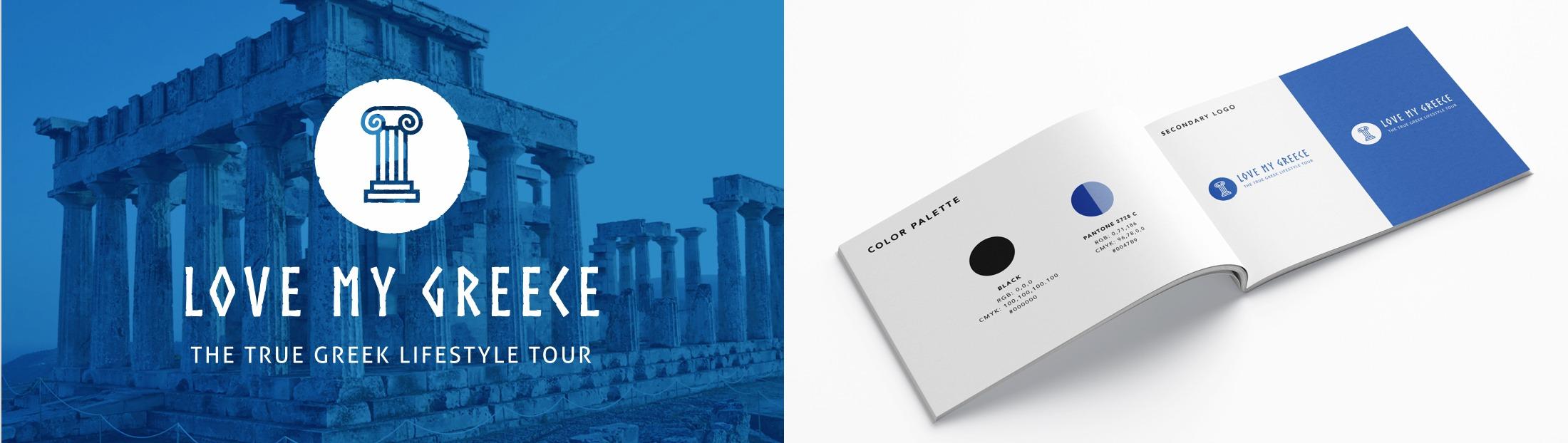 Final Logo Concept - Love My Greece