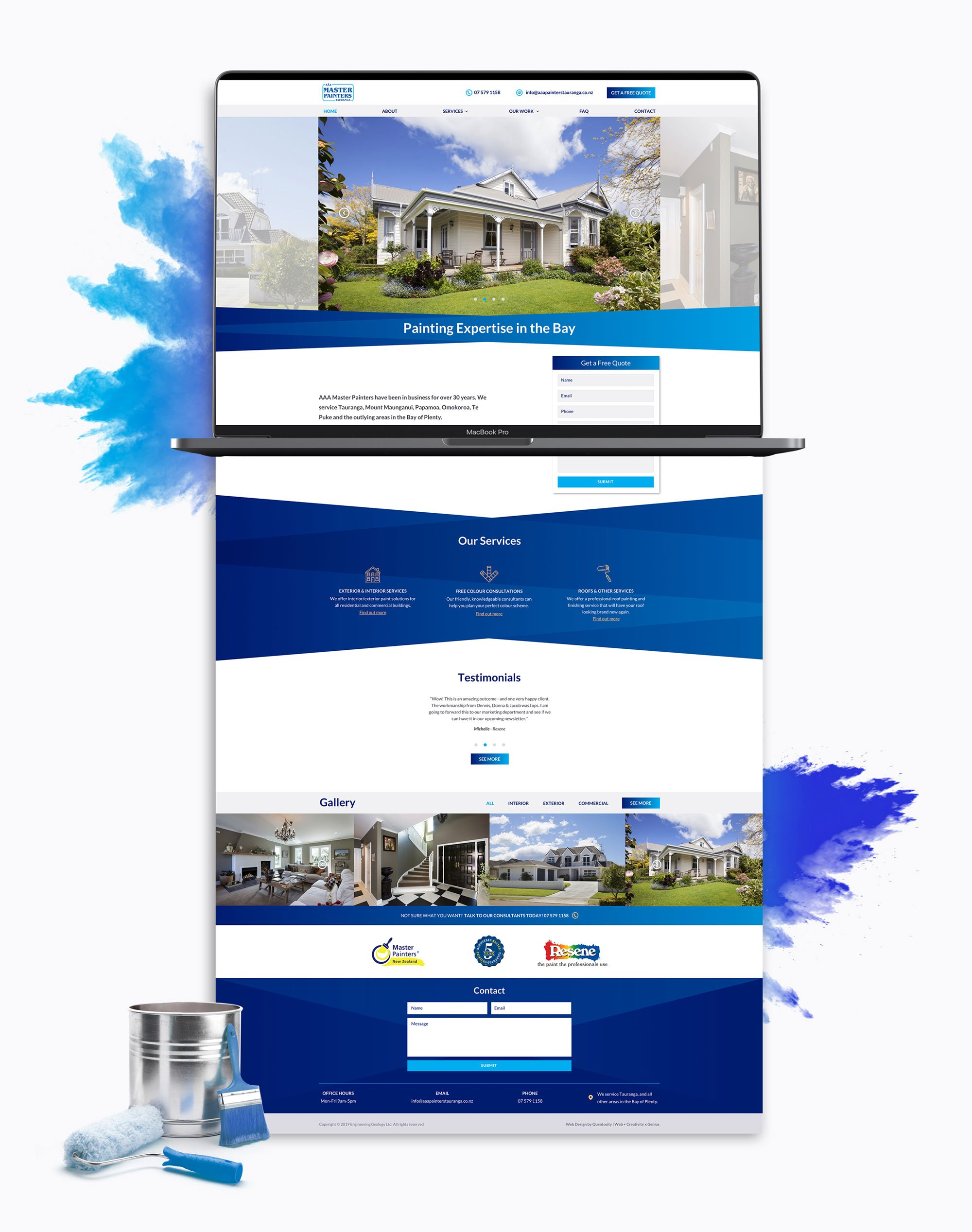 Website Re-design - Exclusive Travel Group