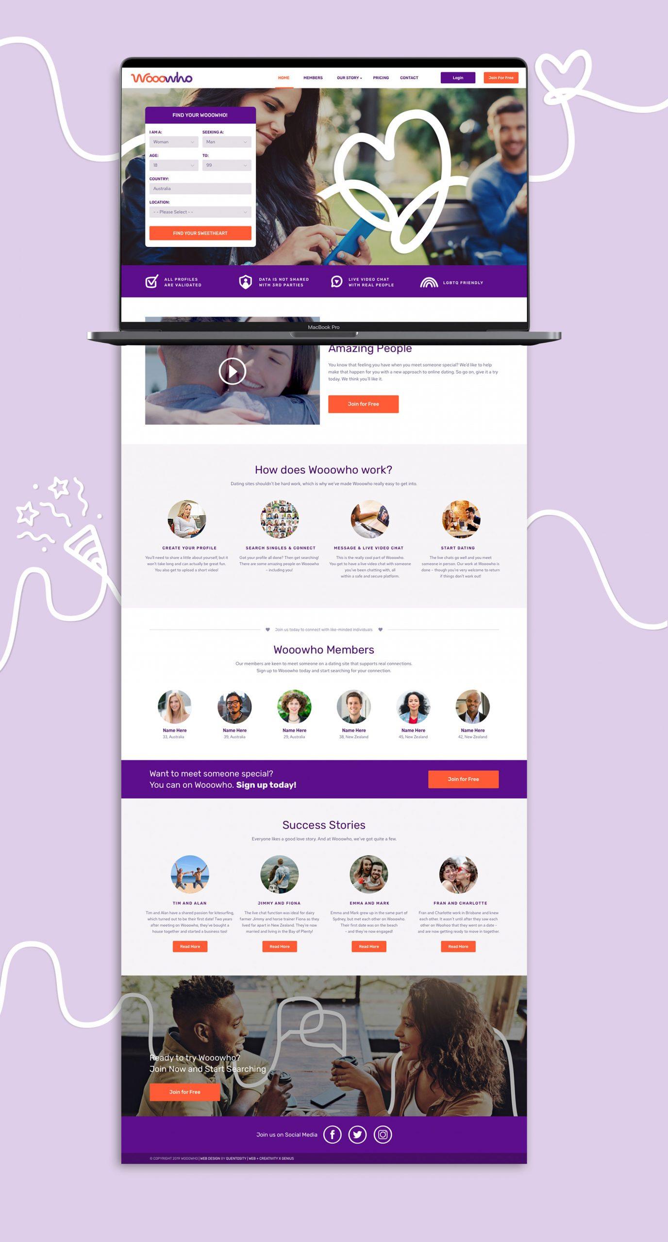 Web Design - Wooowho