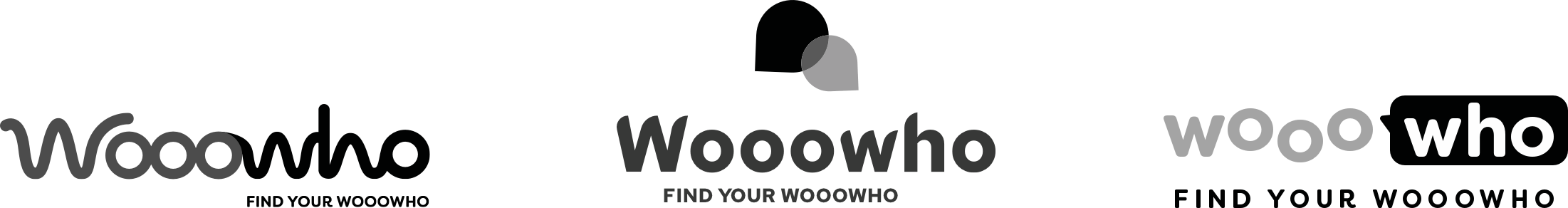 Initial Logo Concepth - Wooowho