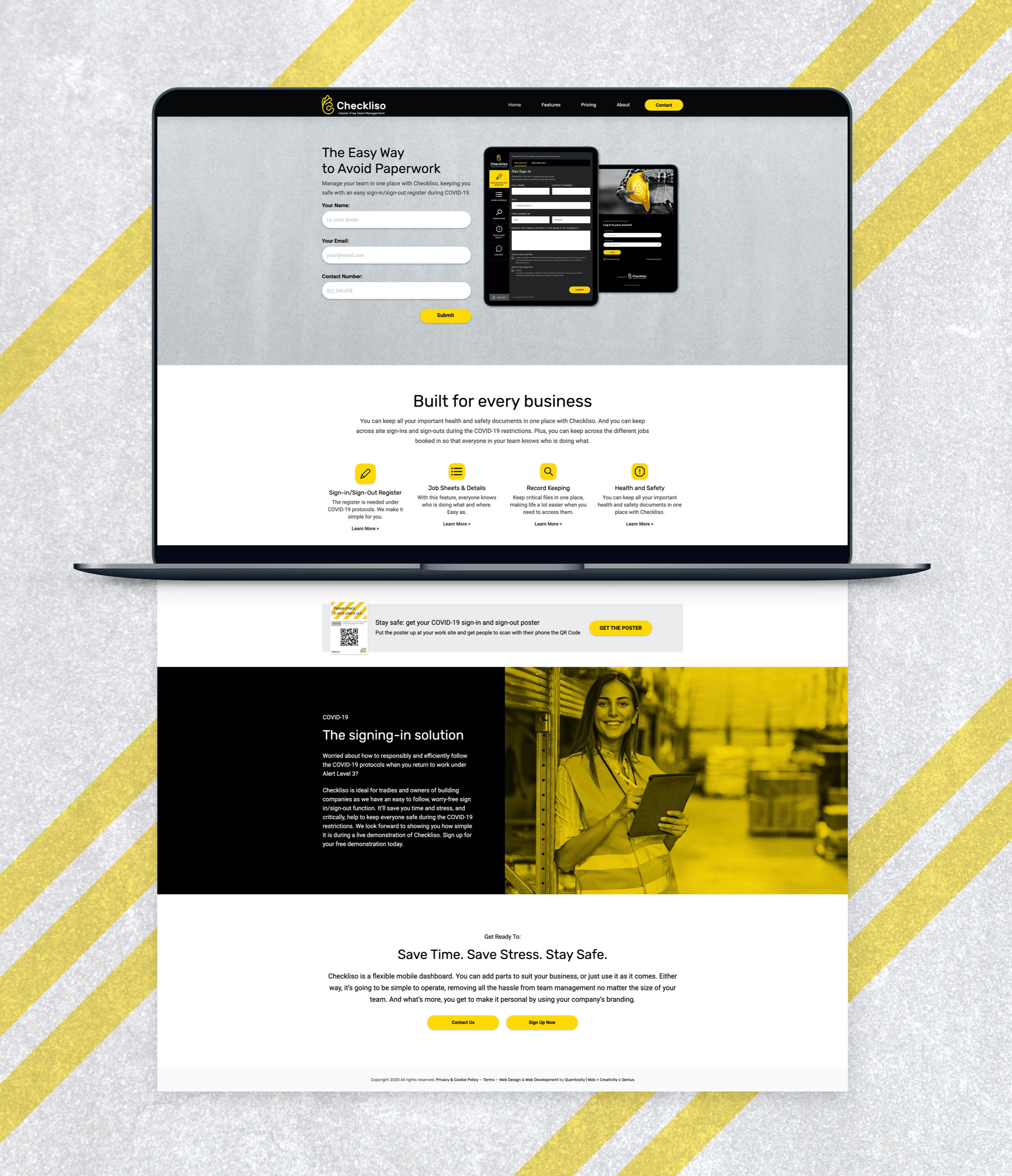 Website Design - Checkliso