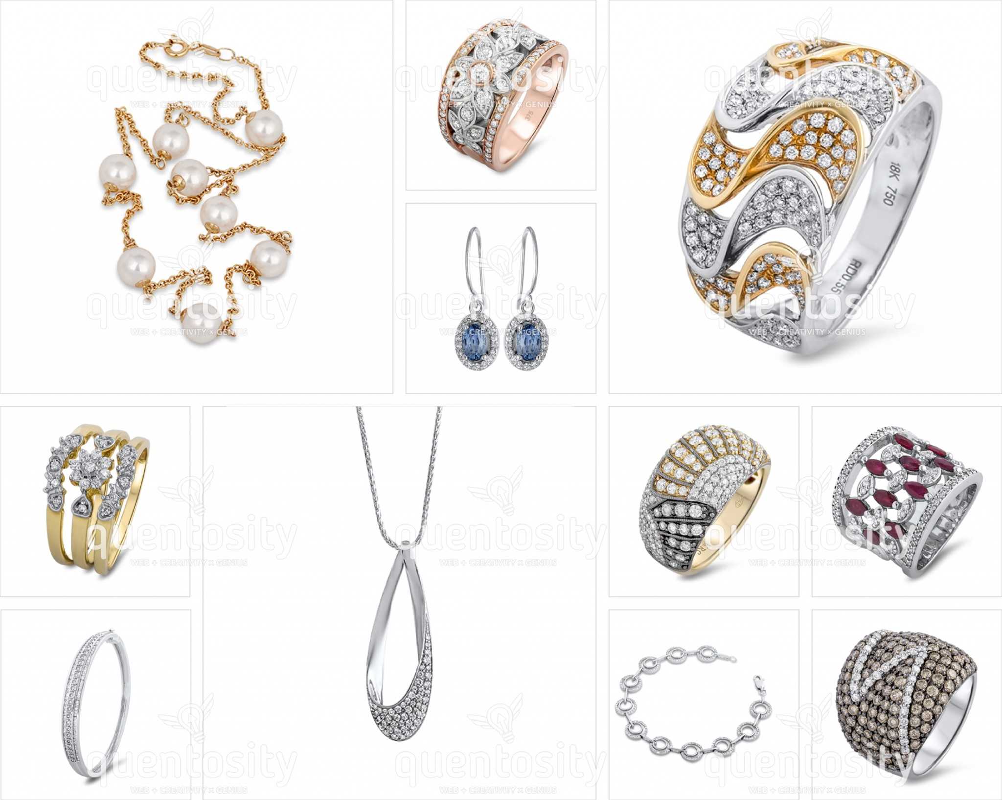 Jewellery Photography - Service Photo Collection