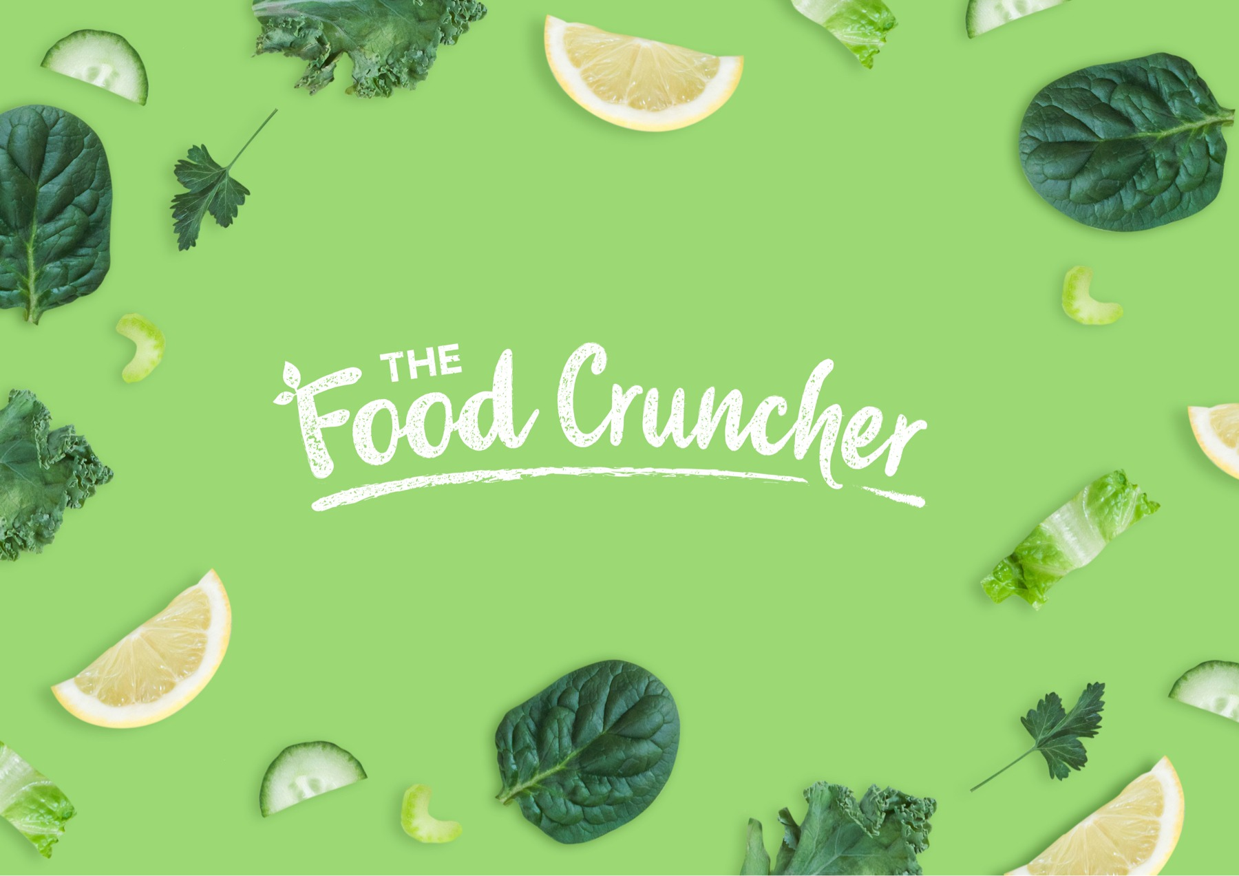 Logo Design - The Food Cruncher