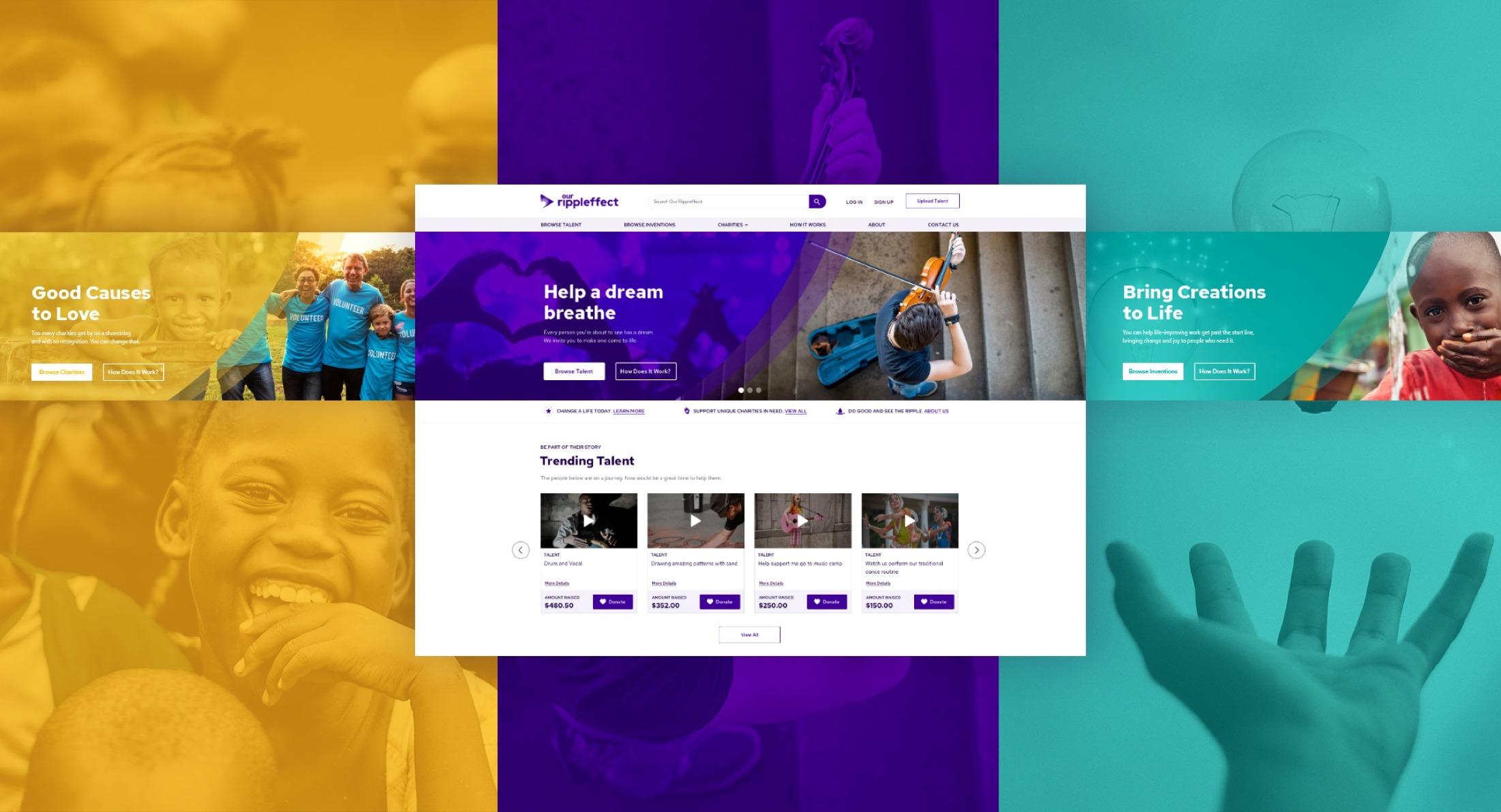 Website Development- Our Rippleffect