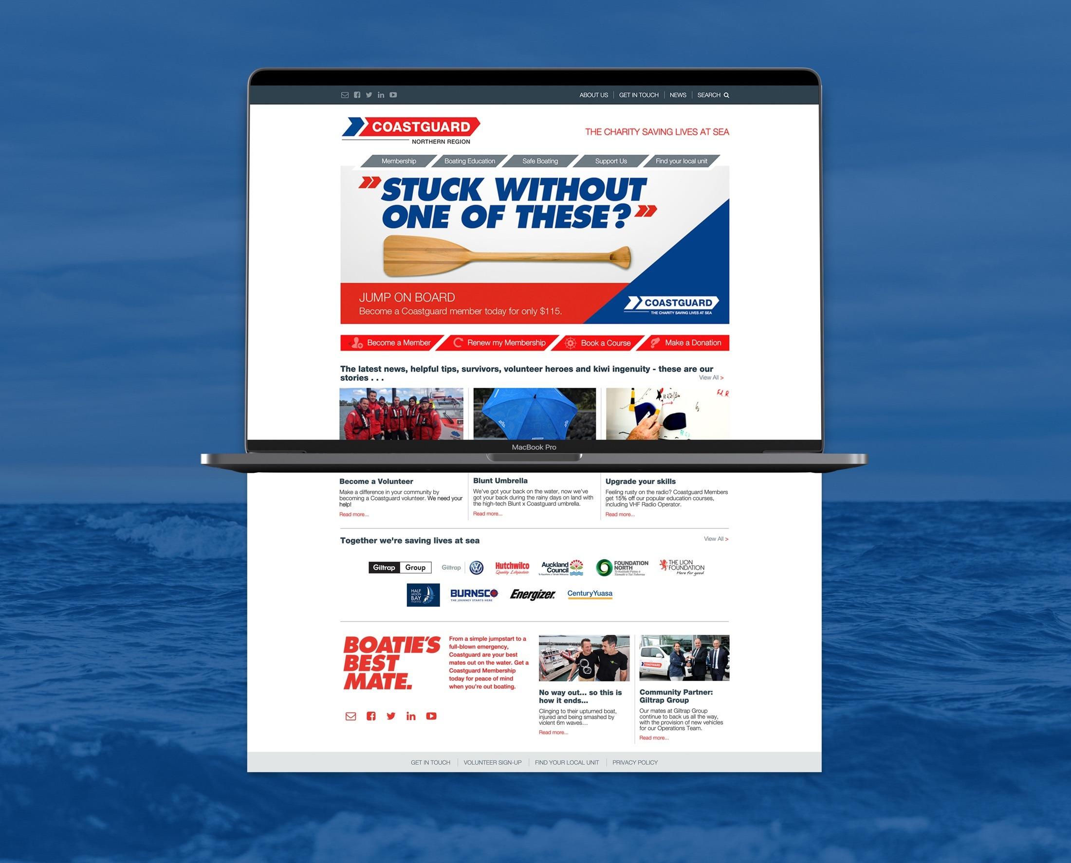 Website Development - Coastguard