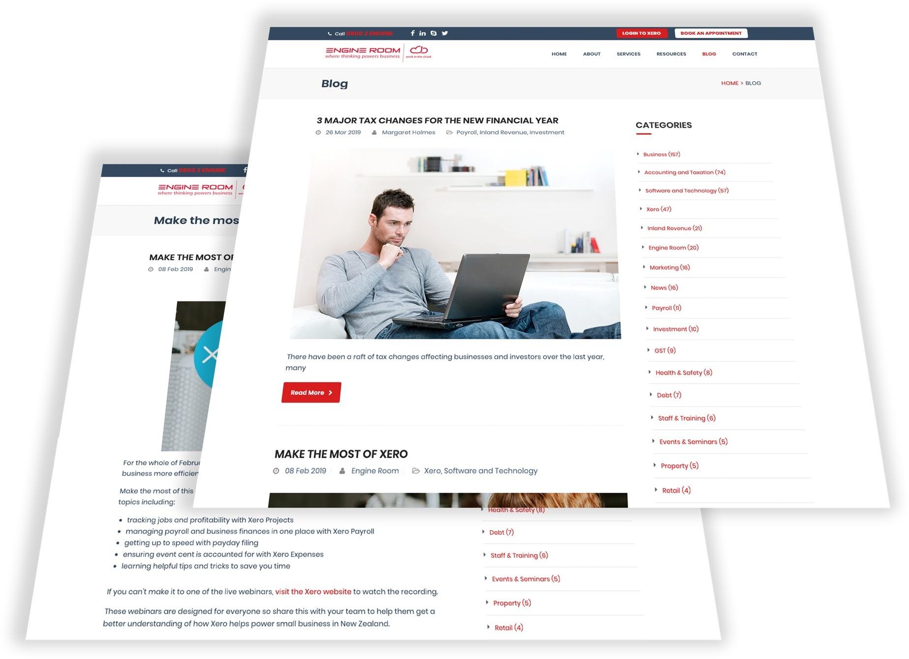 Blogs - Engine Room