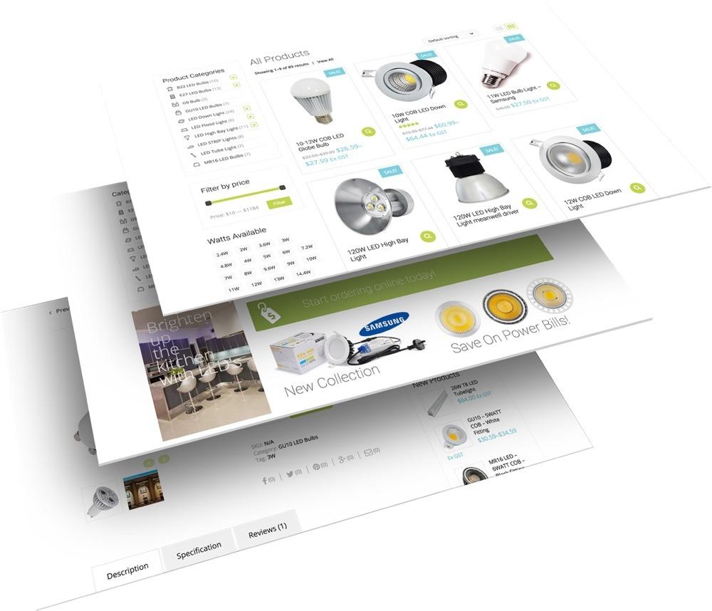 Website Development - KiwiLed