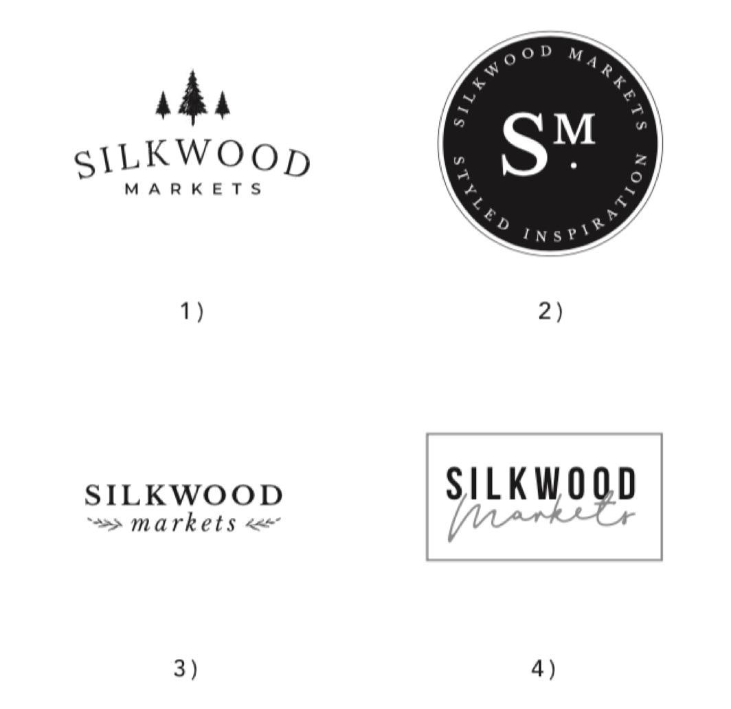 Initial Logo Concepts - Silkwood Living