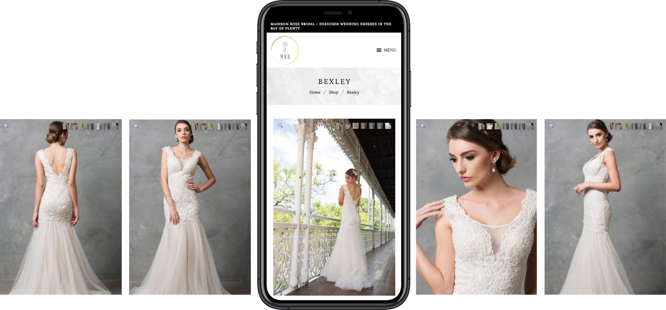 E-commerce - Madison Rose Bridal