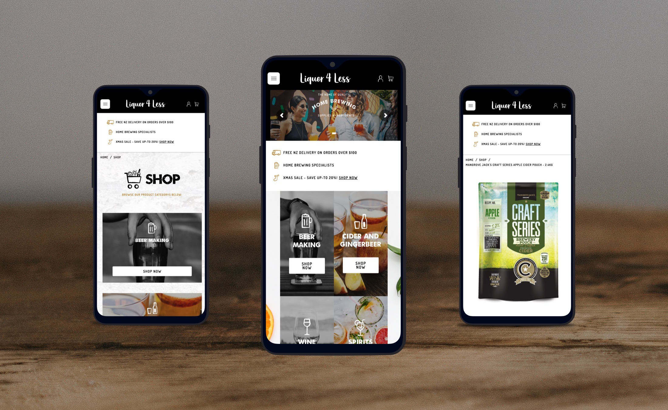 Mobile Friendly - Liquor 4 Less