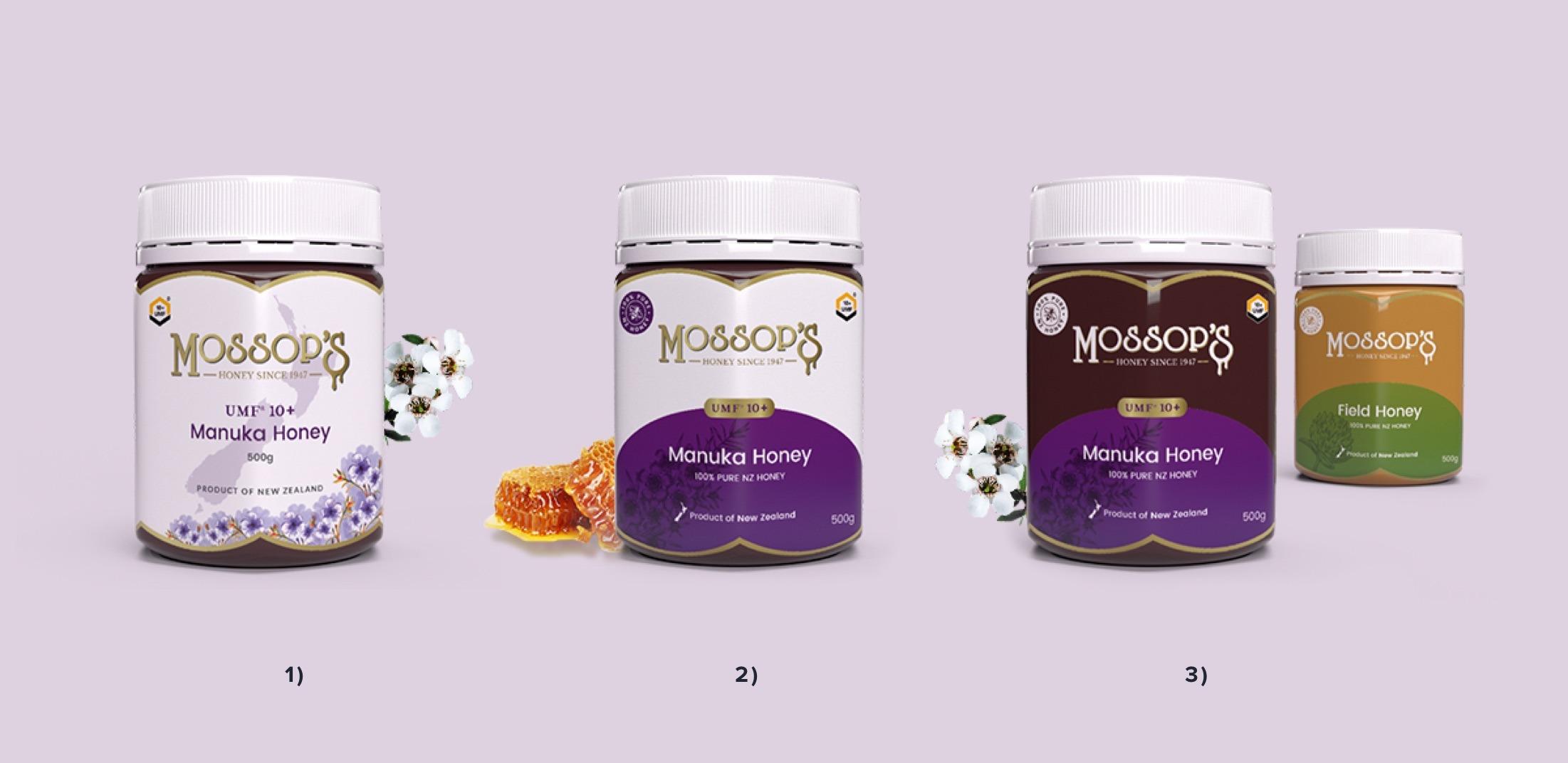 Product Design - Mossop's Honey
