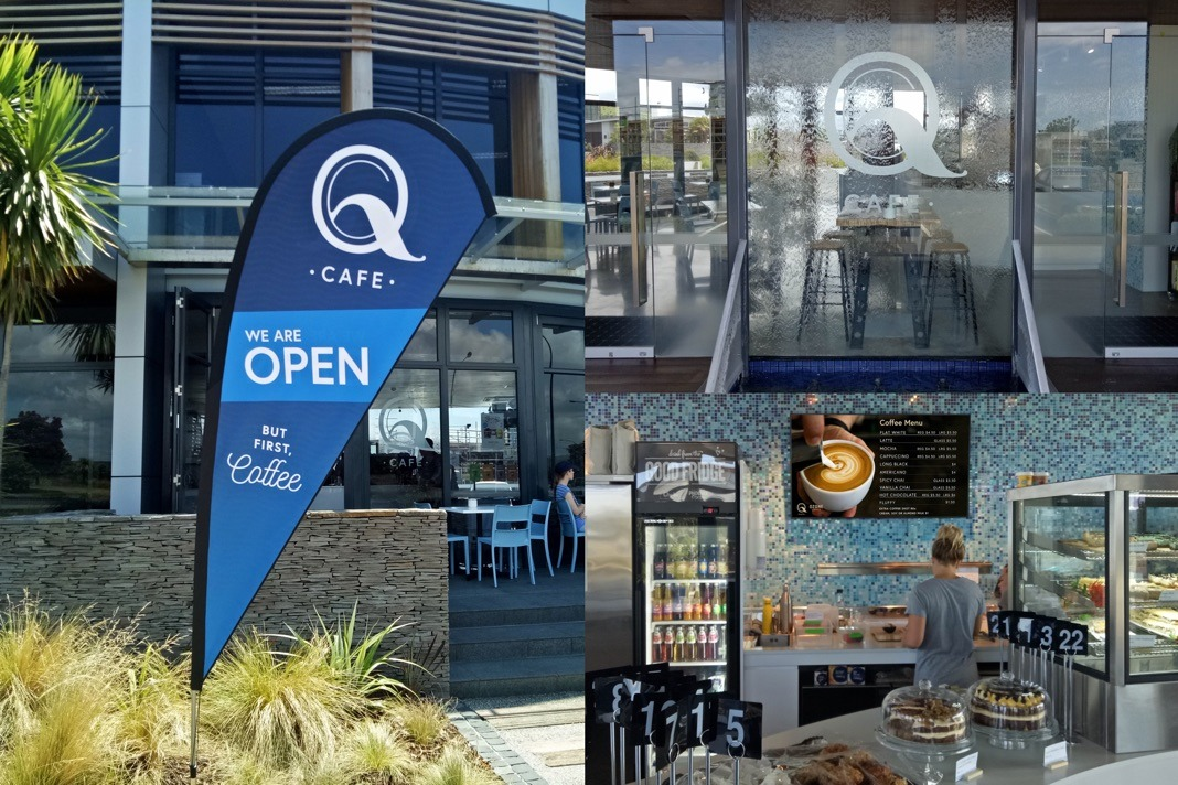 Banners - Q Cafe