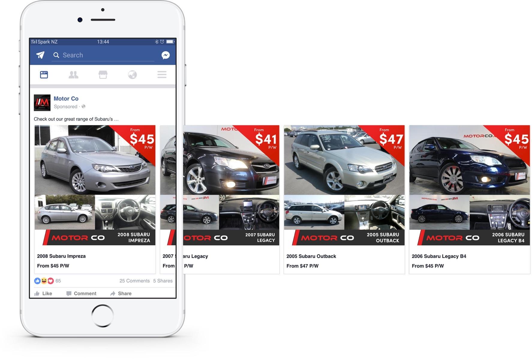 Social Media Marketing - MotorCo