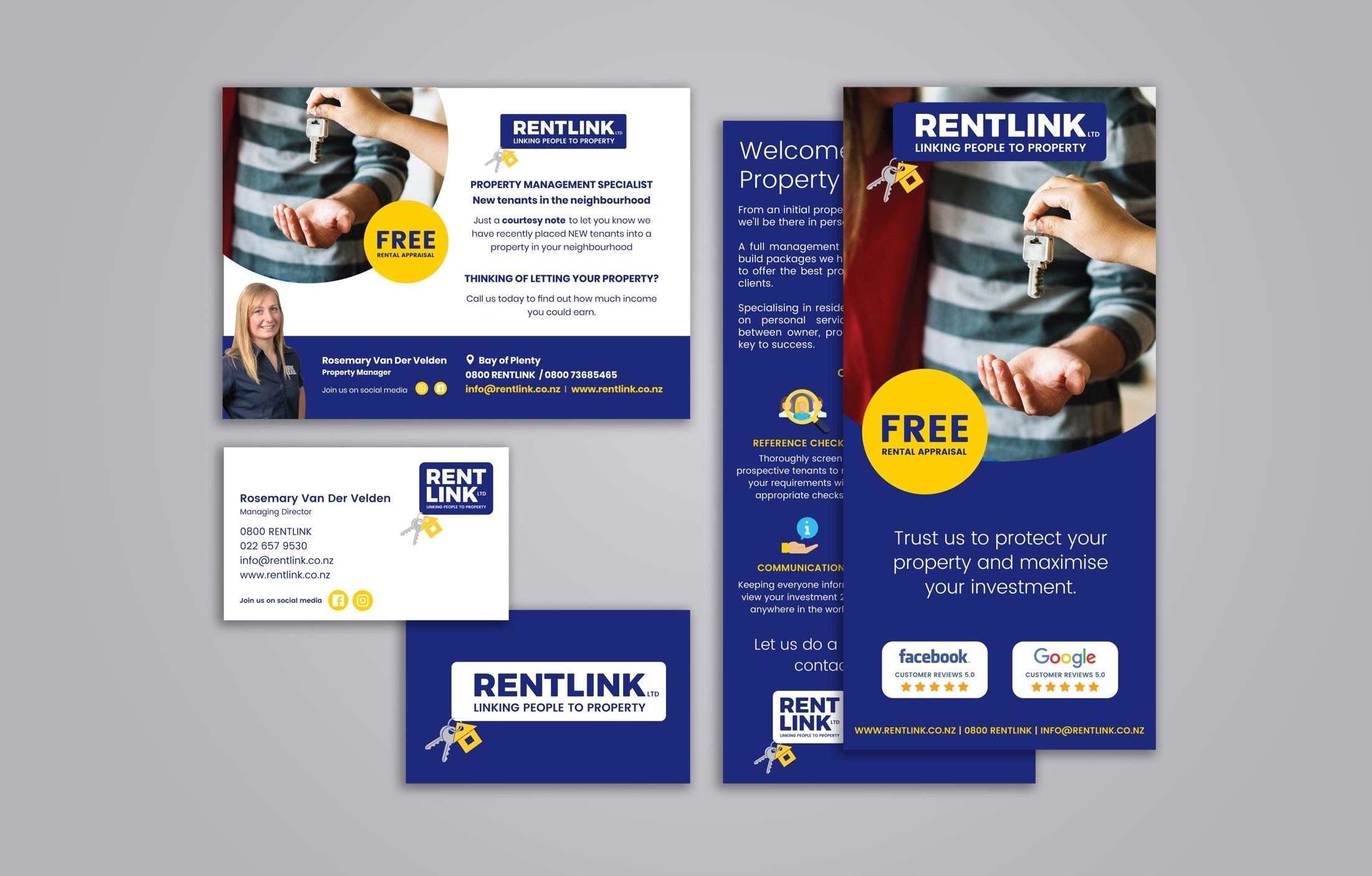 Print Material - Rentlink