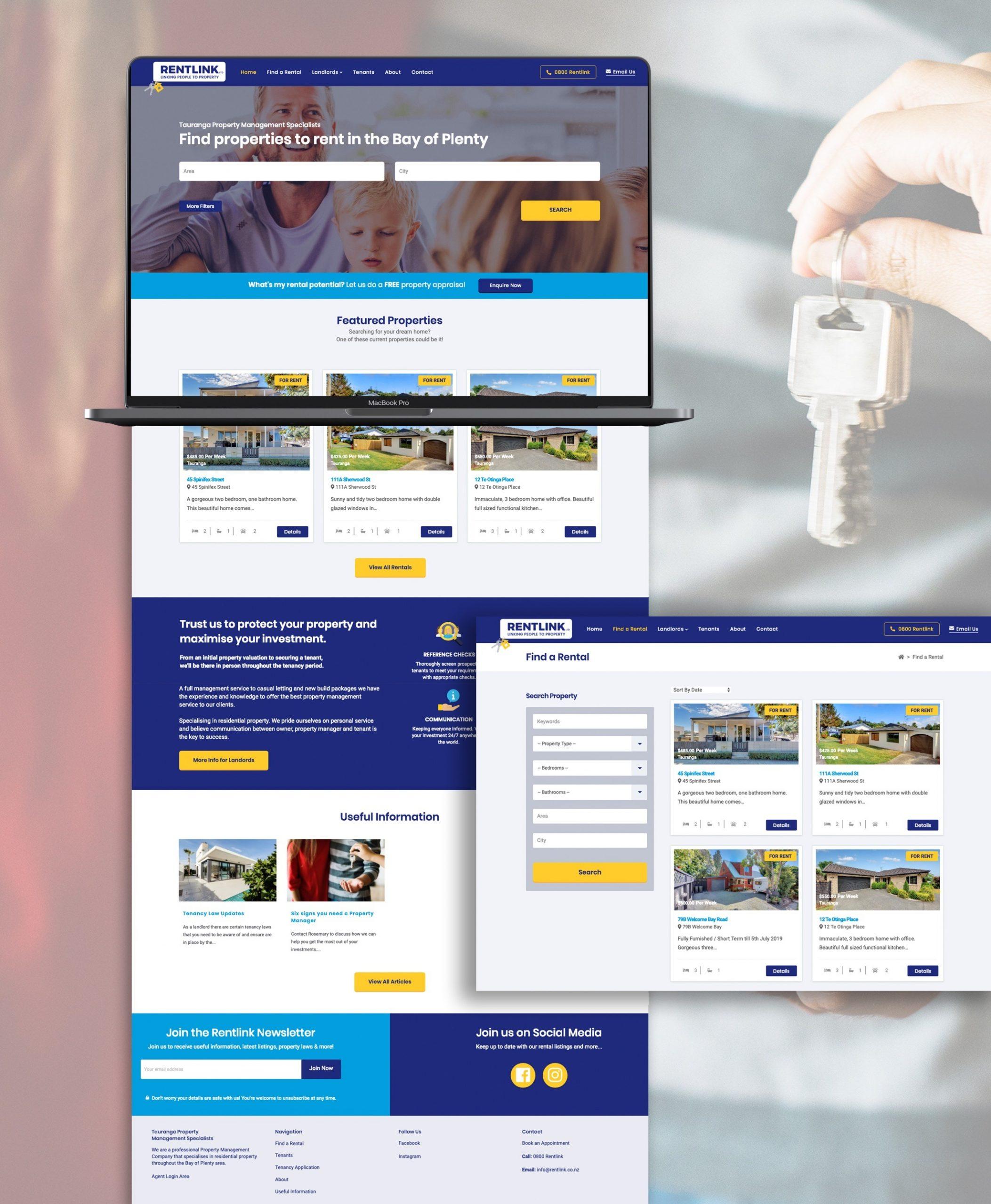 Website Development  - Rentlink