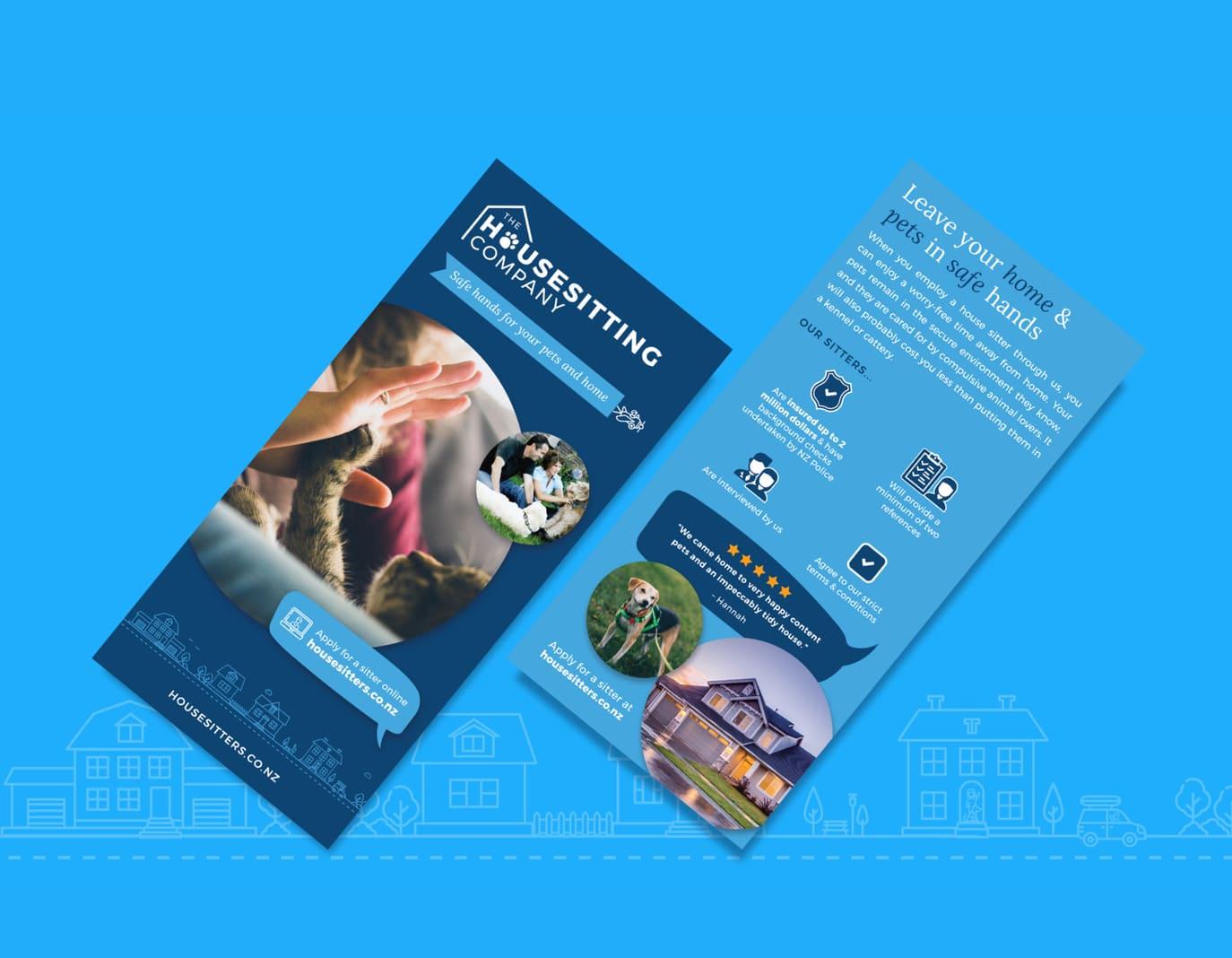 graphic design flyer leaflet design
