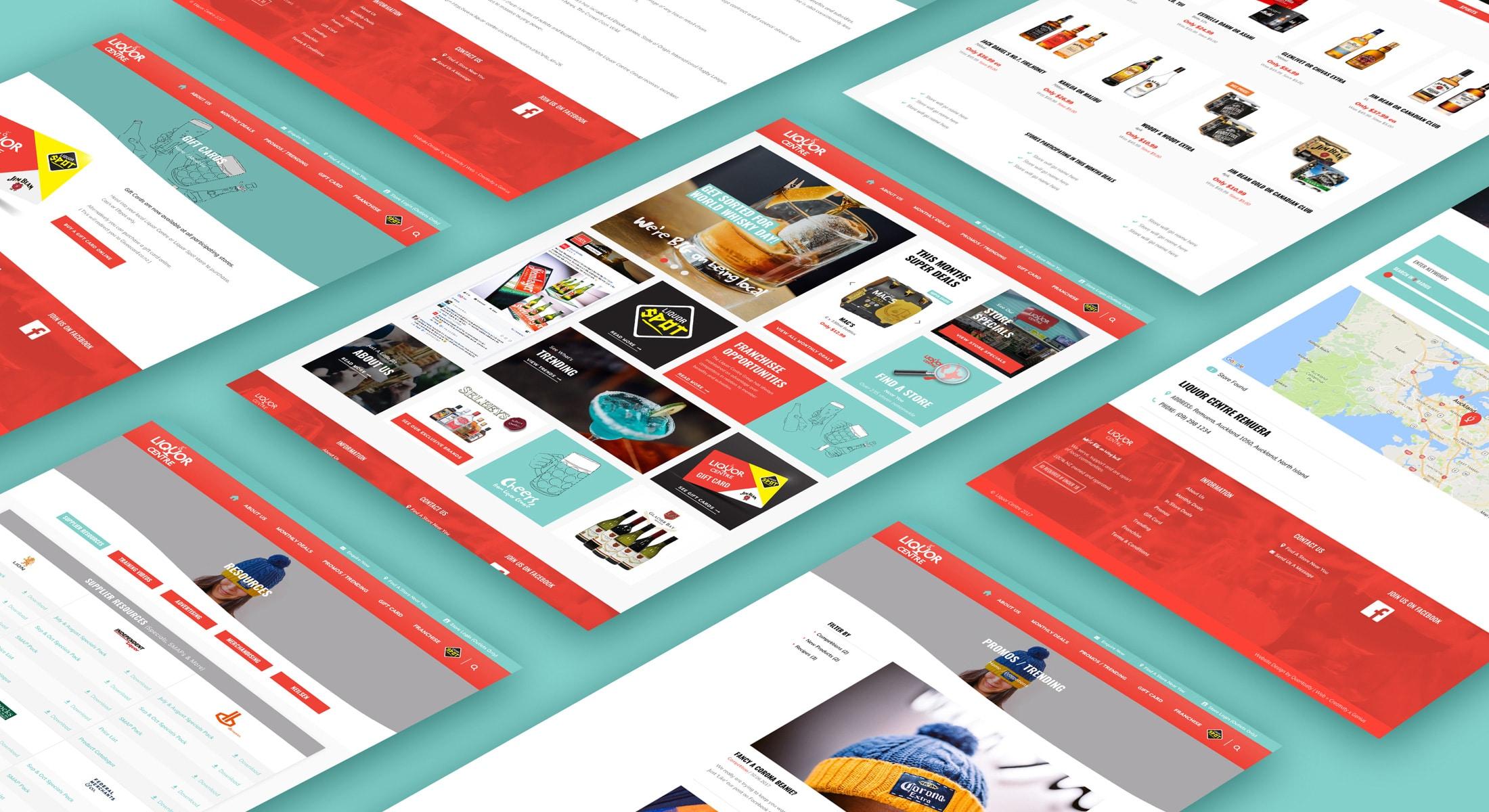 Website business shopfront