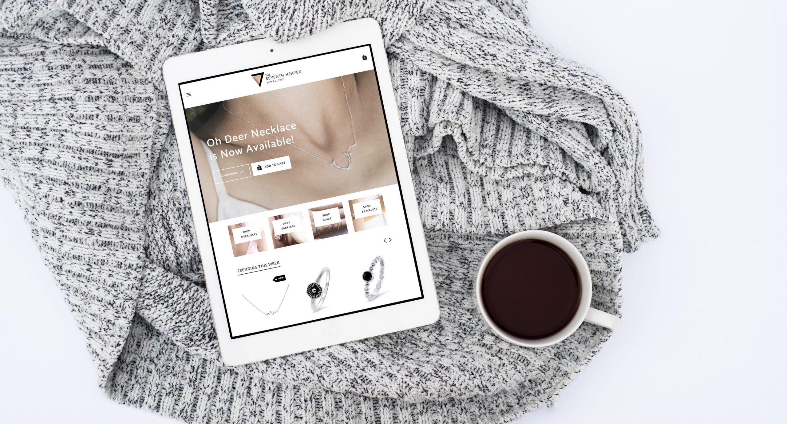 Website shopfront photo example