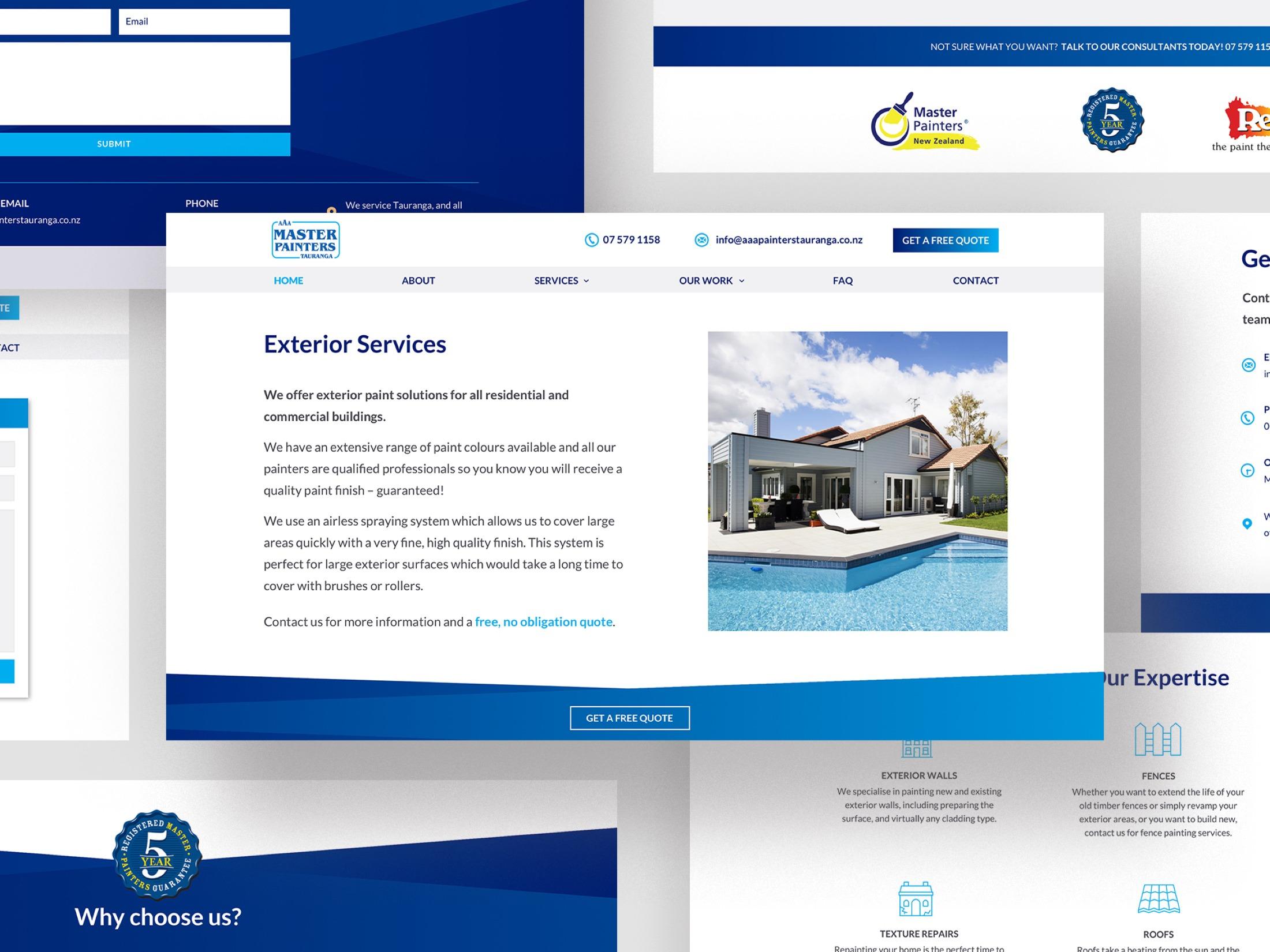 Website Development - Exclusive Travel Group