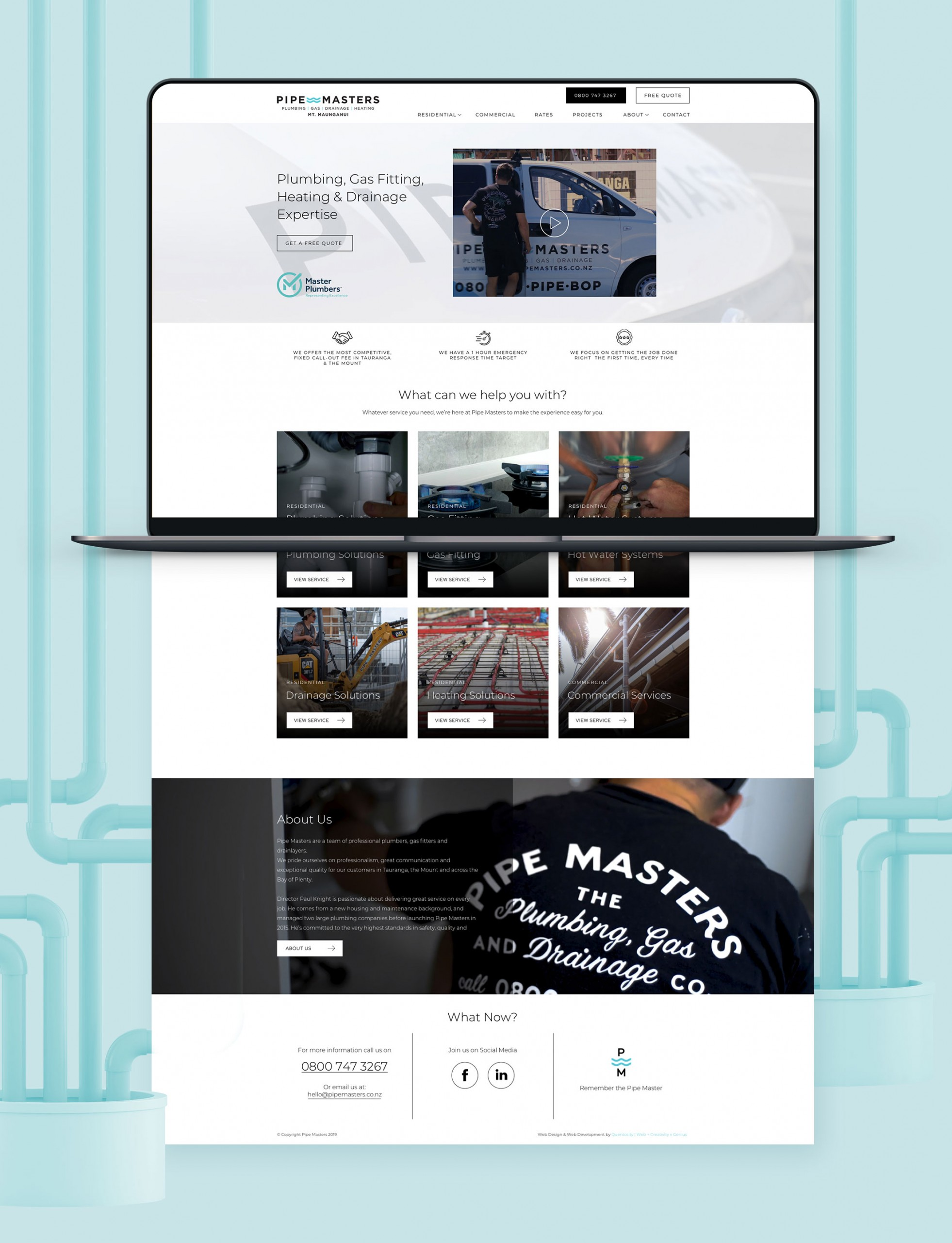 Website Development - Pipemasters