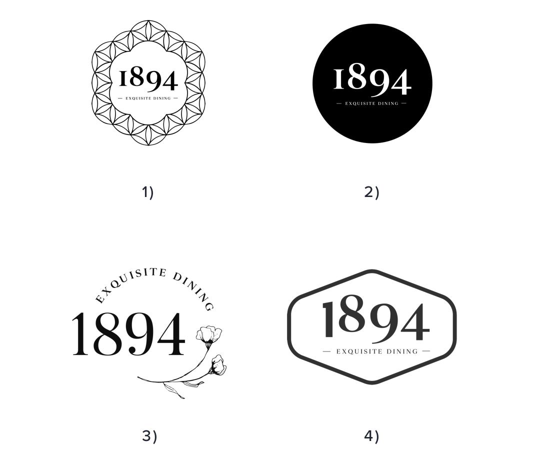 Initial logo concepts - Tauranga Club