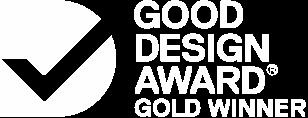 Good design awards - Gold winner of web design and development